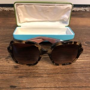 NWT KATE SPADE NEW YORK TORTOISE AND GOLD SHADES
